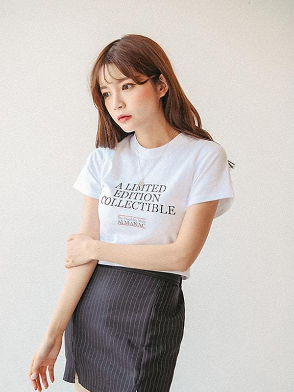 Edition Crop Short Sleeve Polo Shirt