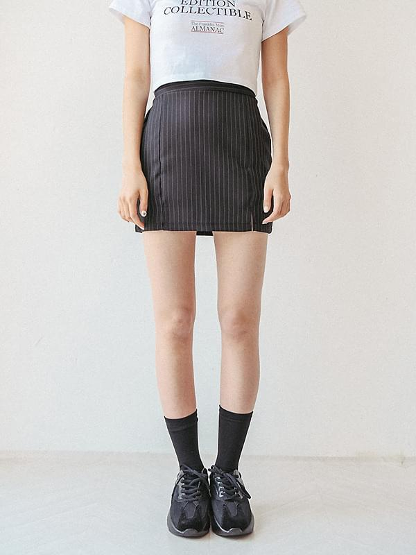Genie striped skirt