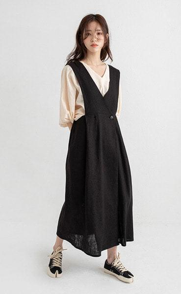 sister layered maxi one-piece