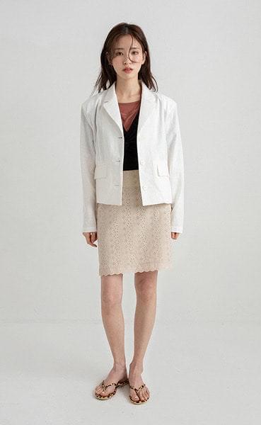 candle linen short jacket