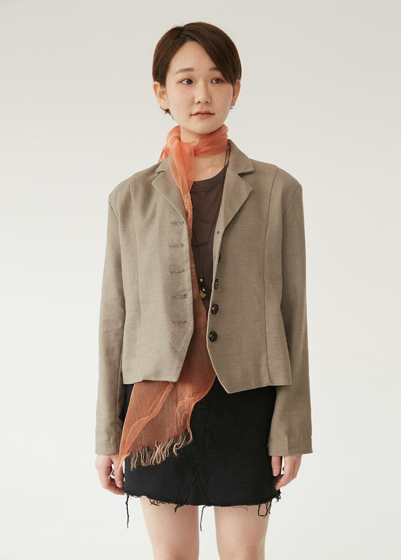 Minimal Crop Jacket
