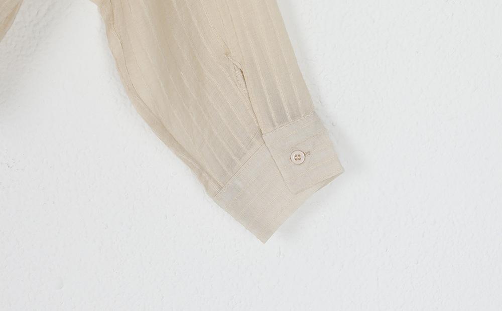 tie up thin shirt