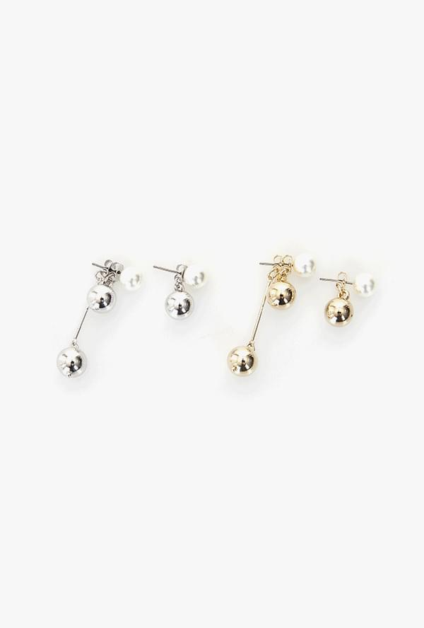 Leu's Pearl Earrings