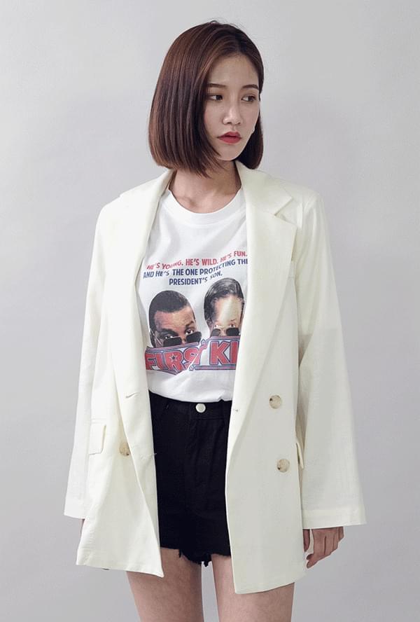 Linen pad double jacket