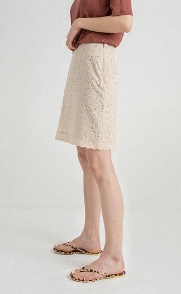 lady lace mini skirt