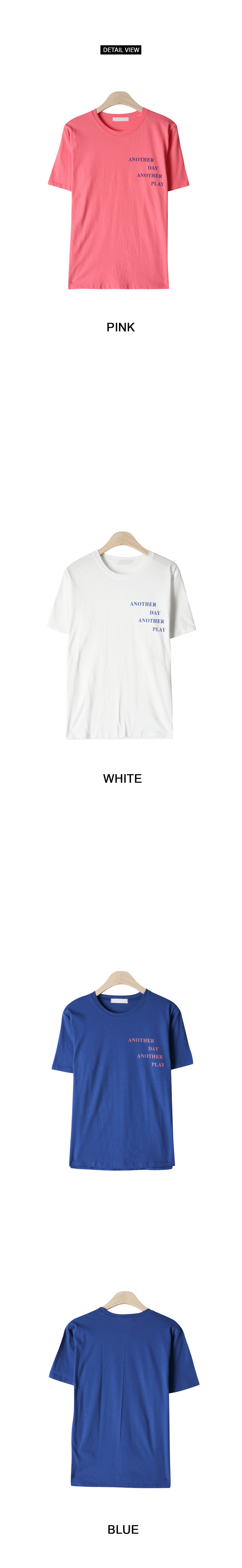 Rounded short-sleeved polo shirt