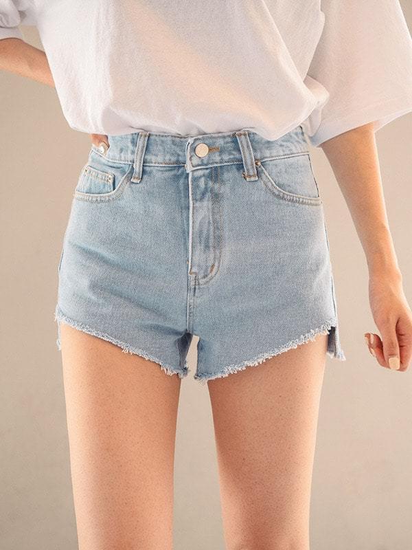 Need Unborn Denim Short Pants