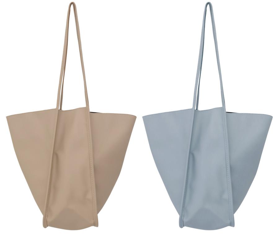 Double pipe shopper bag_B