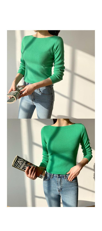 Slime Lip Knit Basic Knit