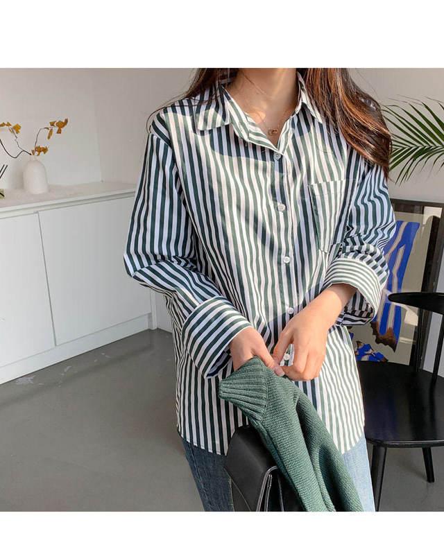 Geno striped shirt