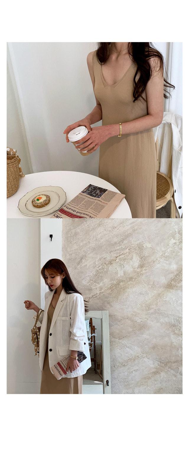 Sharon Nash knit long dress