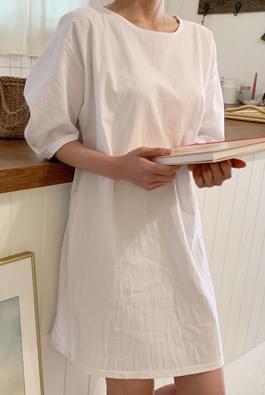 Madeleine Puff Mini Dress