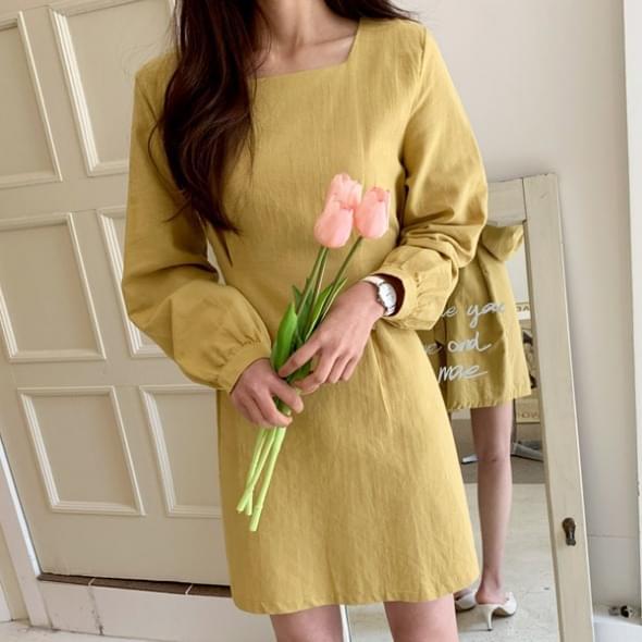 Purin mini pin tuck dress