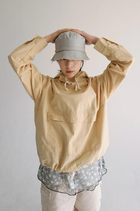 cotton deep-down bucket hat