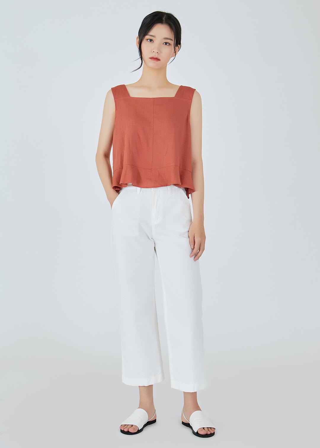 Cool Straight Cotton Pants