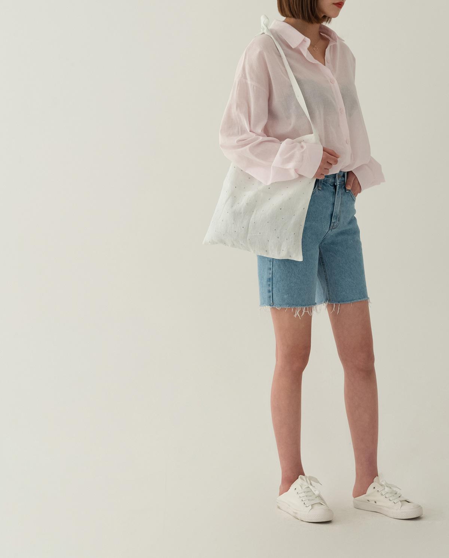 calm linen eco bag