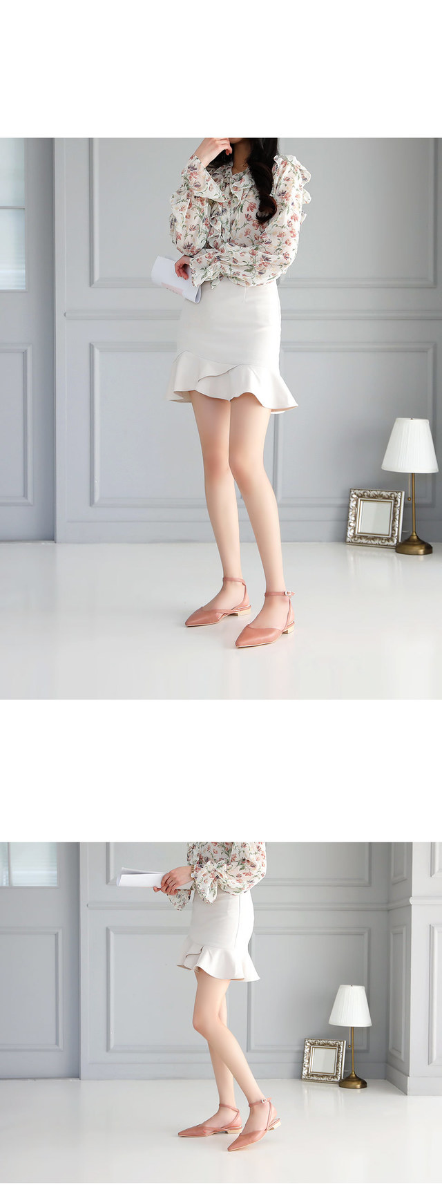 Teloni strap flat shoes 1.5cm