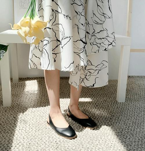 Long skirt without cunt