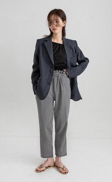 dominik linen standard fit jacket