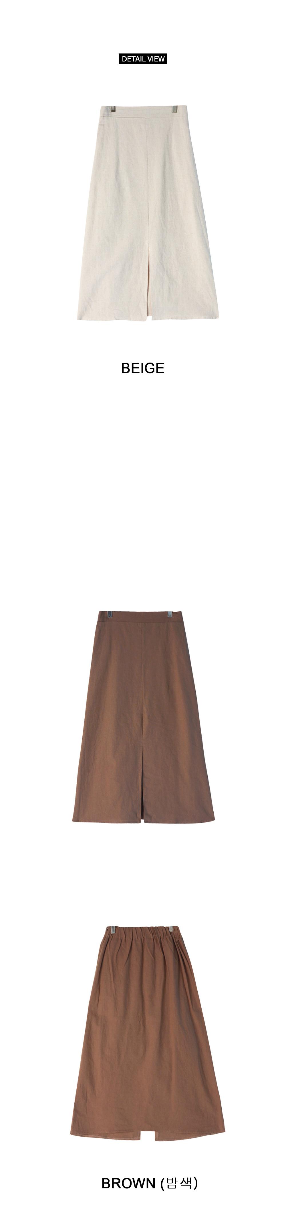 Bowtie long skirt