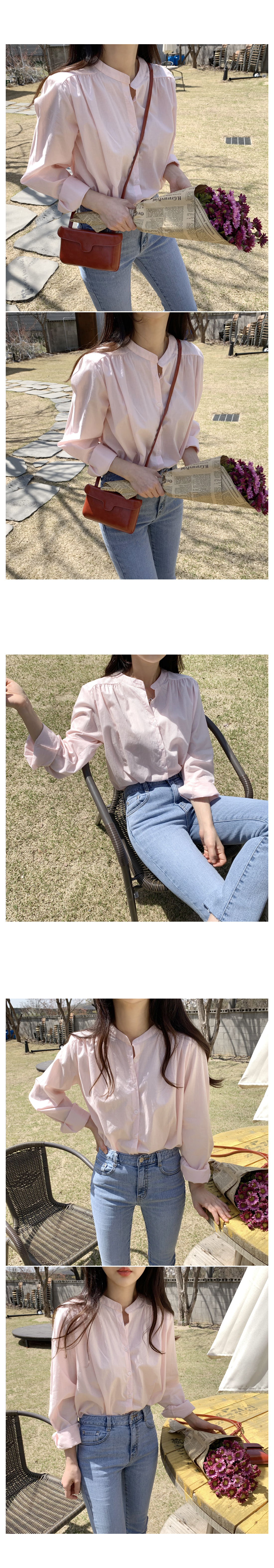 Andreee simple neck blouse