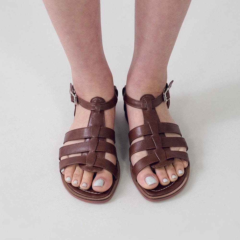Blinders strap sandals