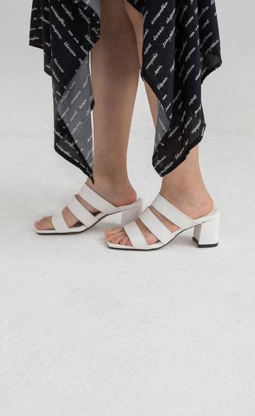 three times heel