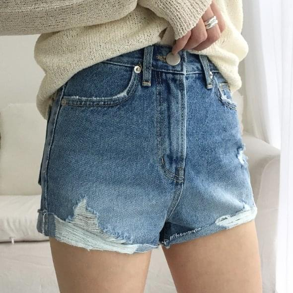 Show Denim Shorts
