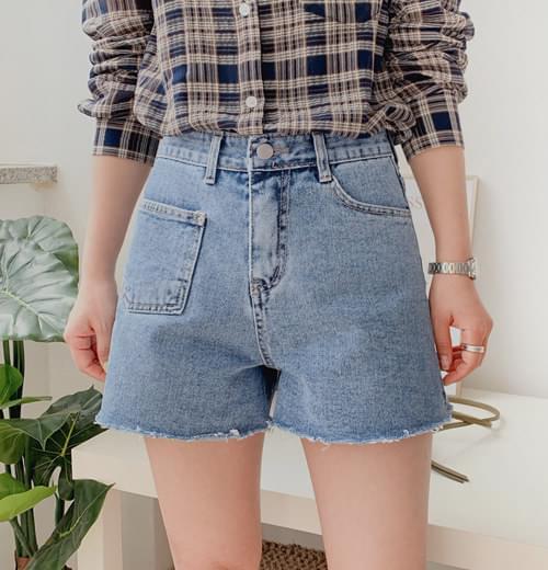 Bonne Pocket Hot Pants