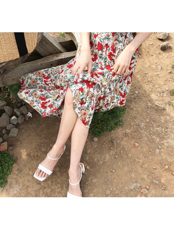 Mood flower wrap skirt