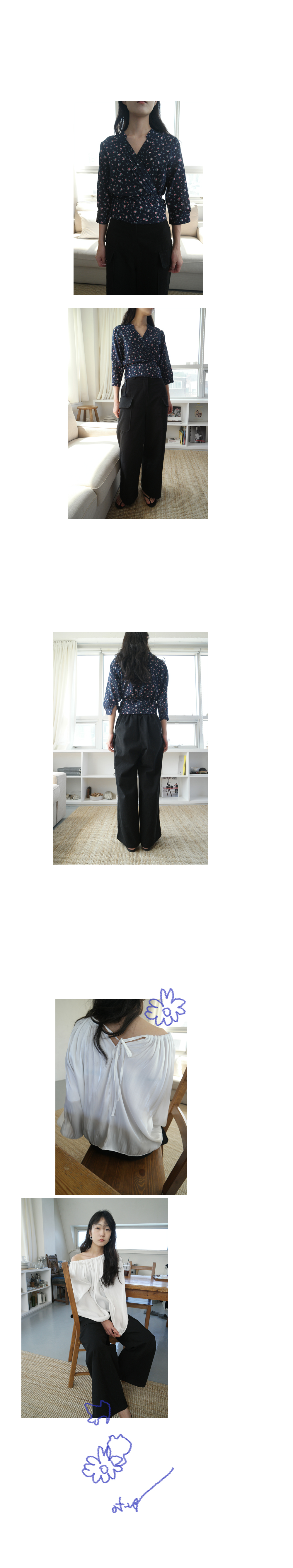 high-waist pocket pants