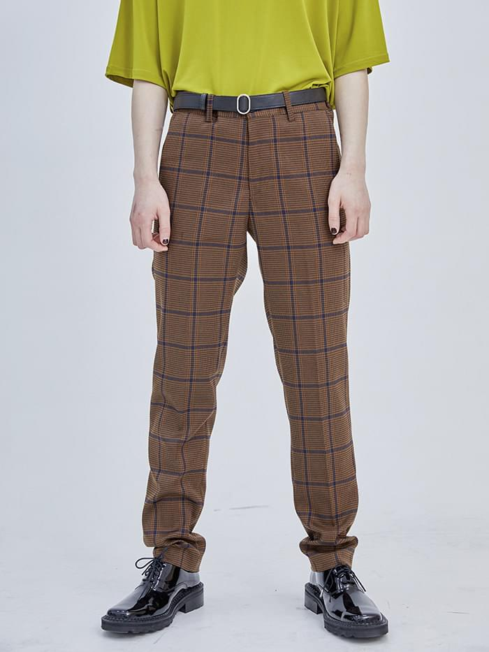 check vintage slacks - men