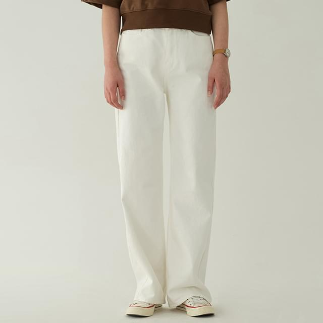 trendy maxi cotton pants