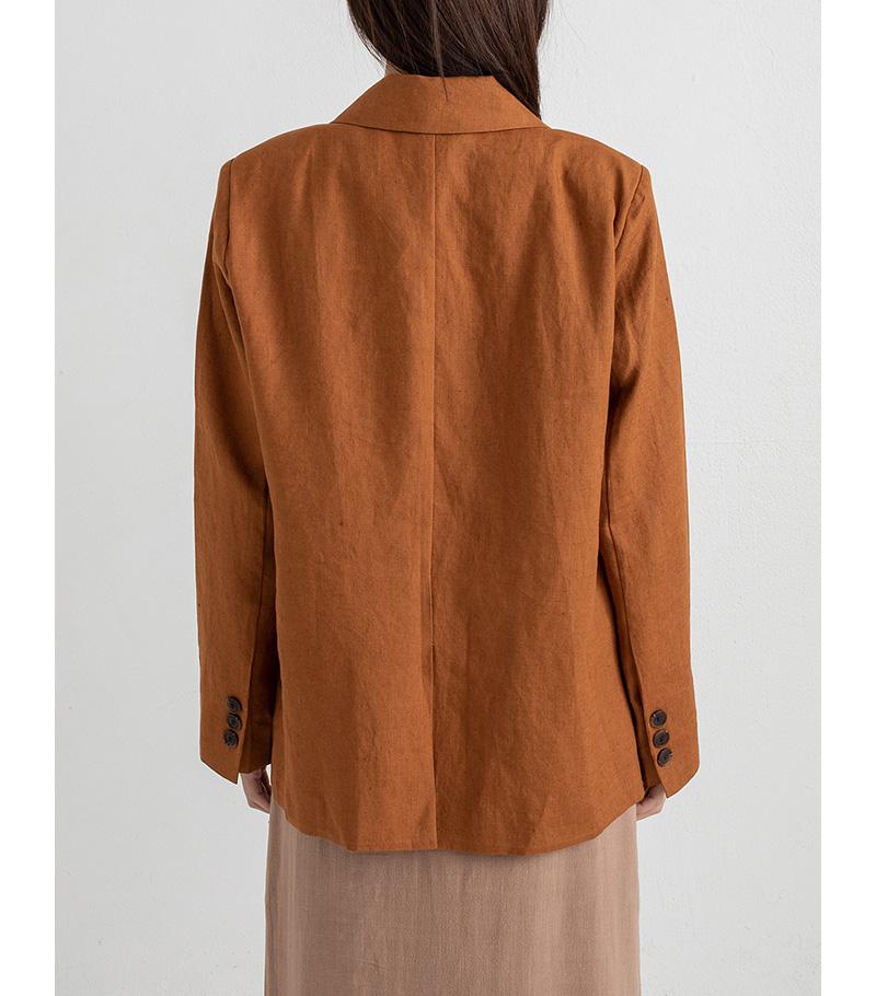 larson linen standard fit jacket