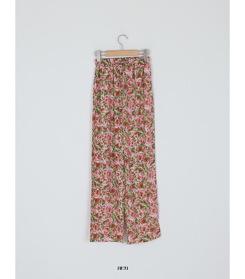flower banding pants