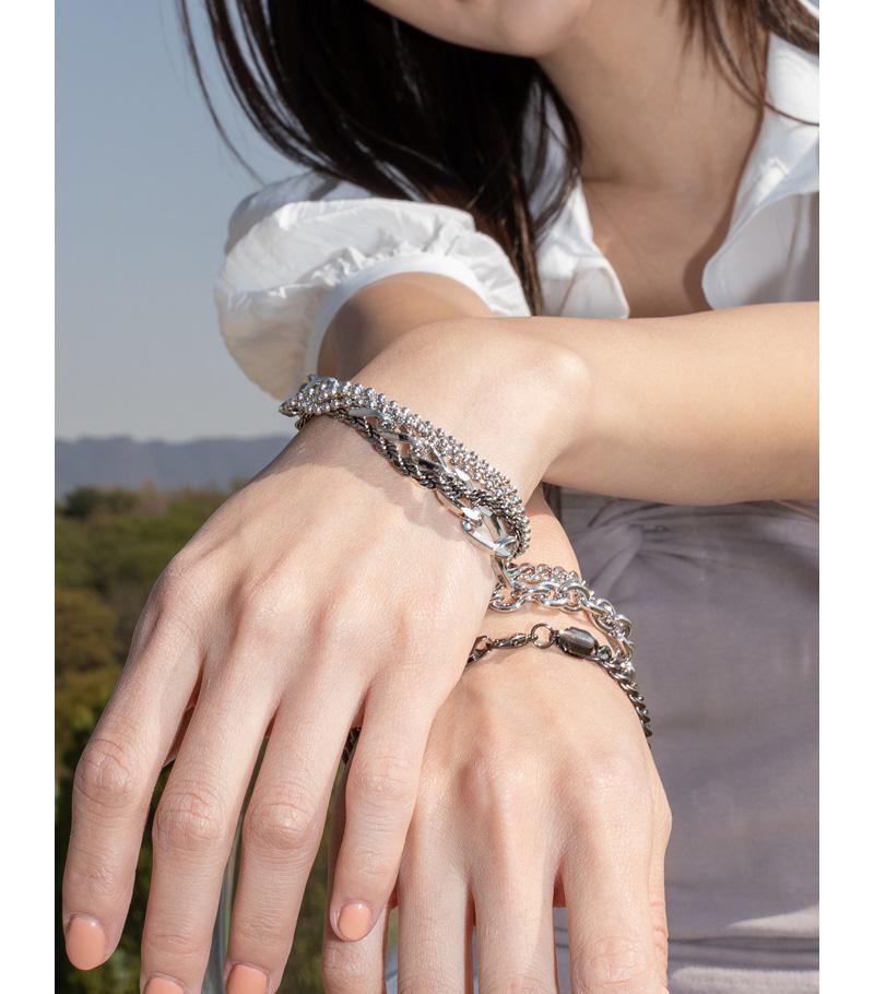 with mini ball bracelet