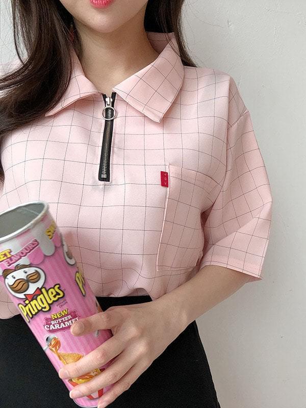 Square ring short sleeve shirt
