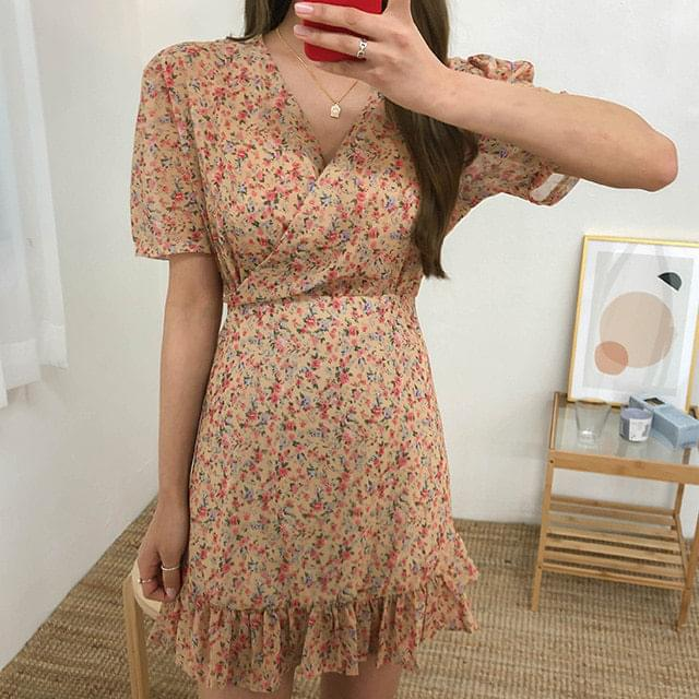 Flower Alice Mini Dress