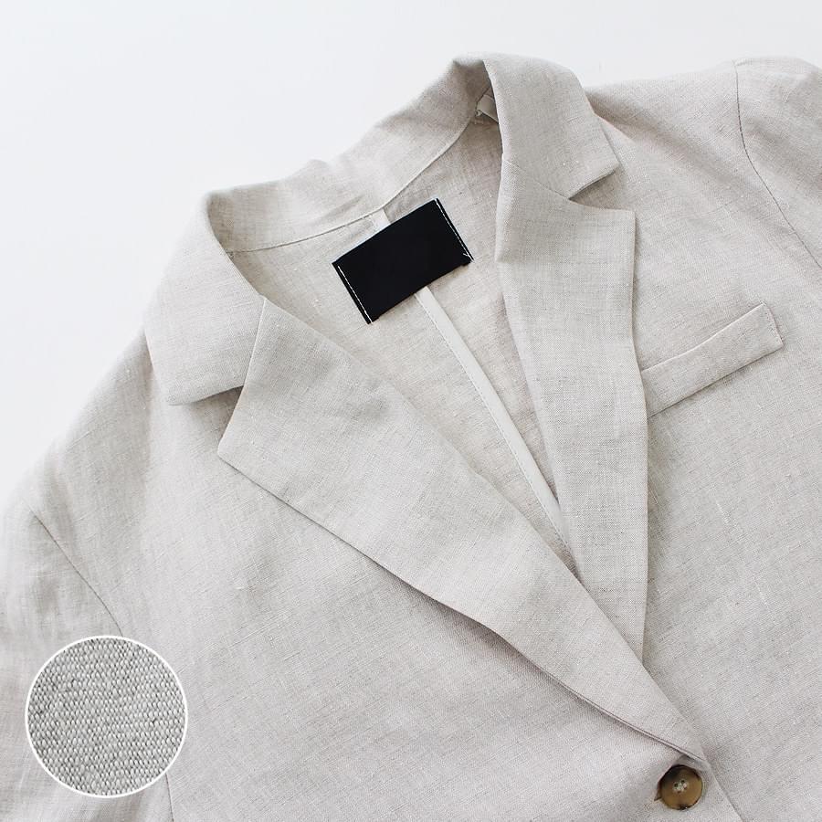 Madeleine Linen Jacket