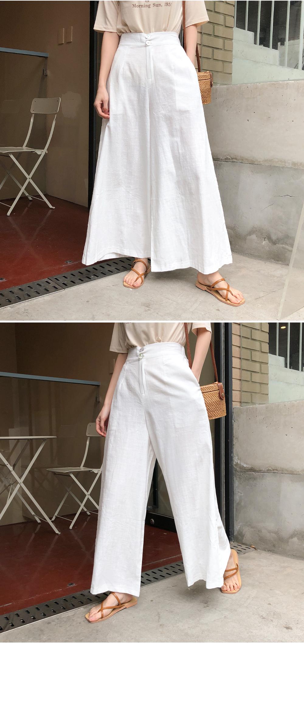 Wide beautiful linen pants
