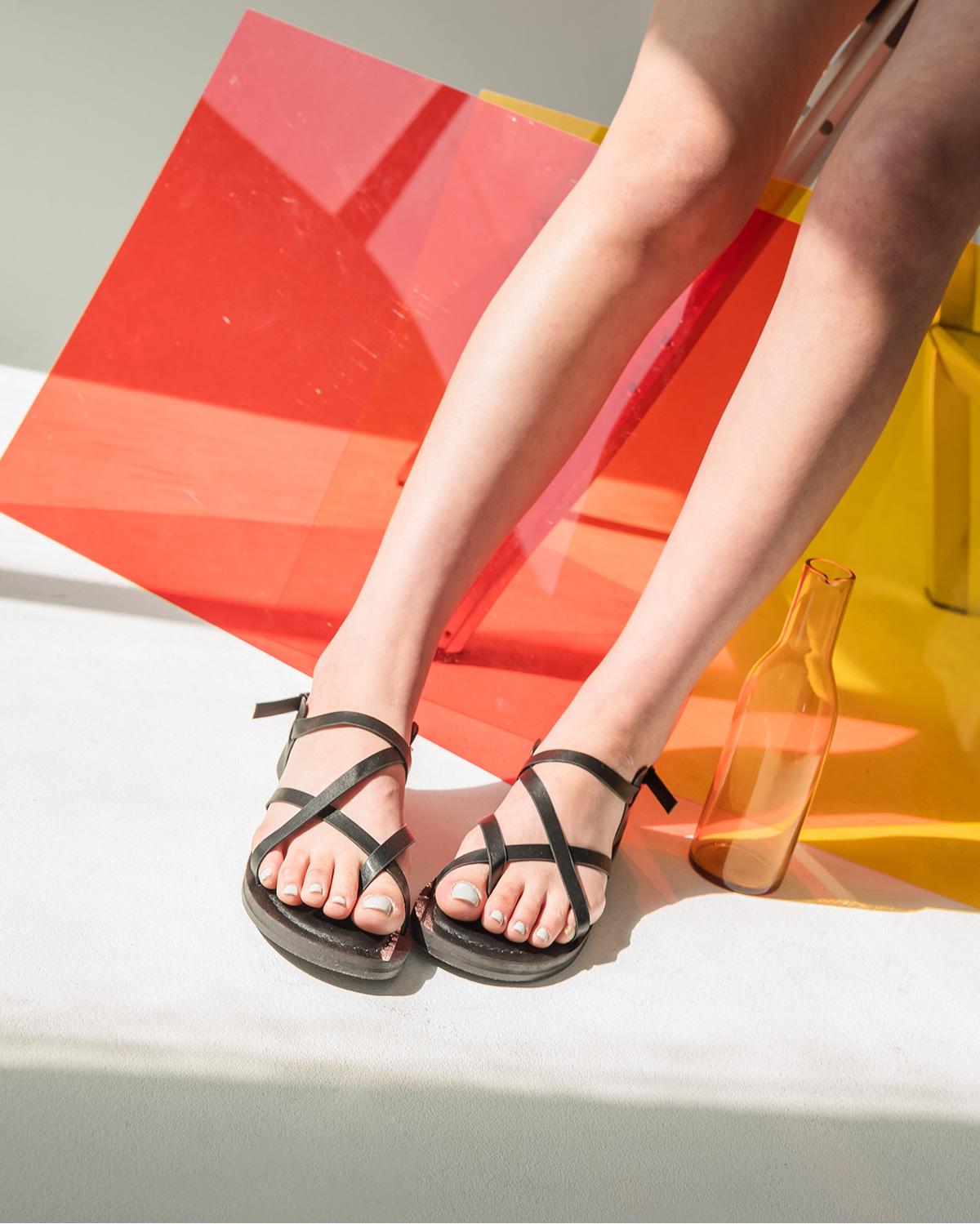 3 color sensual strap sandal
