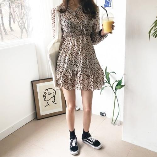 Rena Chiffon Mini Dress