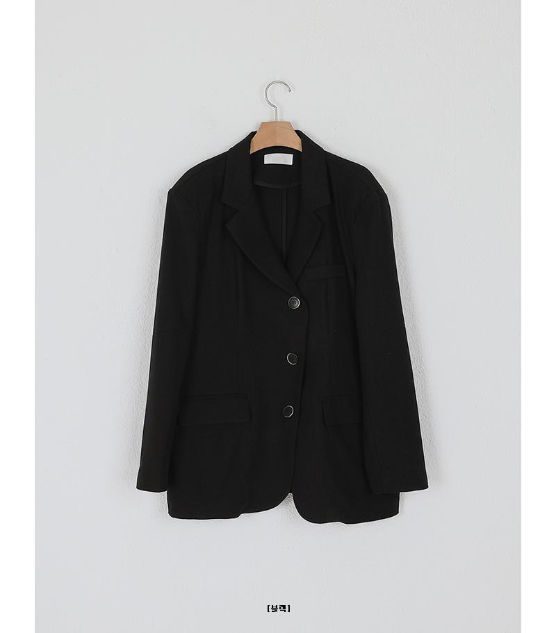 norton linen unbal over fit jacket