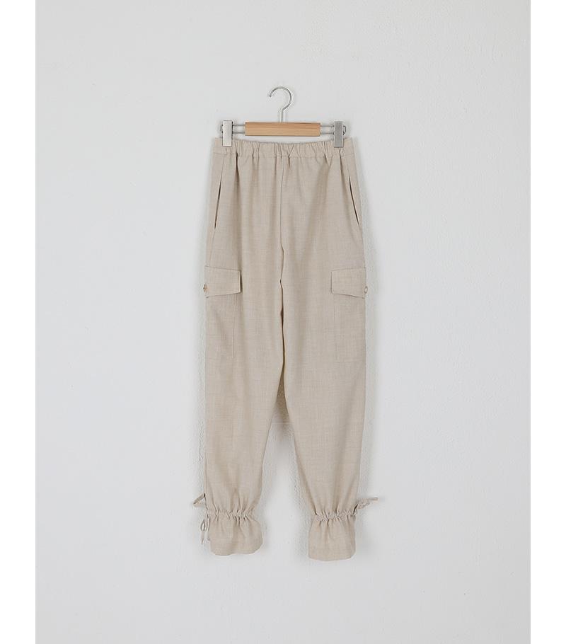 classic string pocket slacks