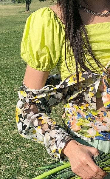 petit smock blouse