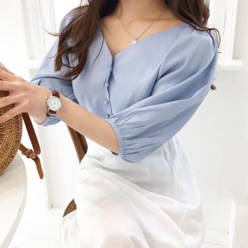 Pasta balloon blouse