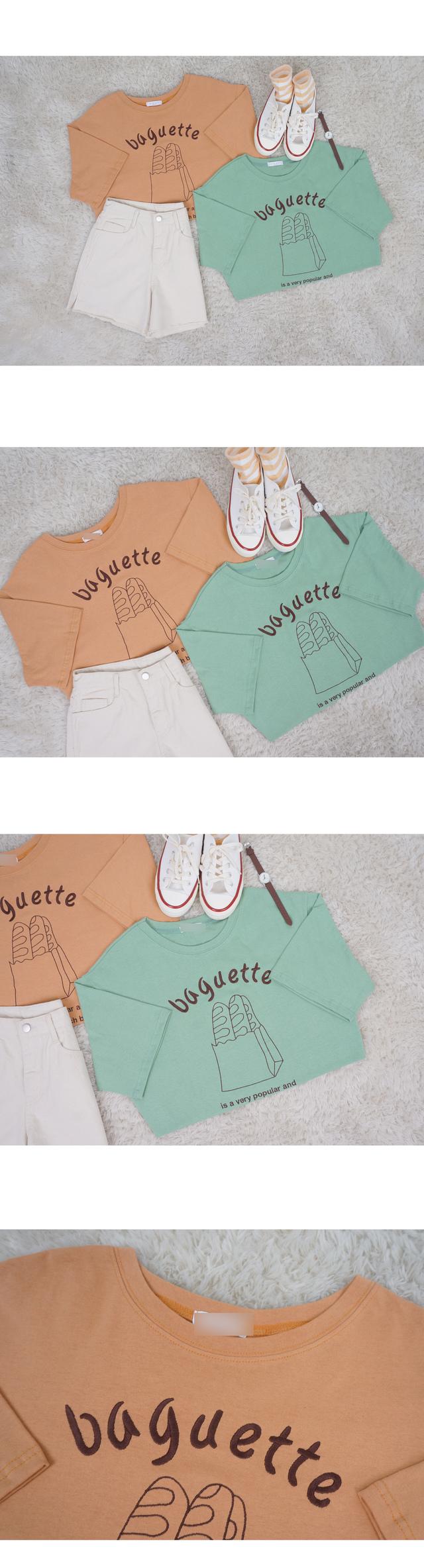 Baguette Short Sleeve T