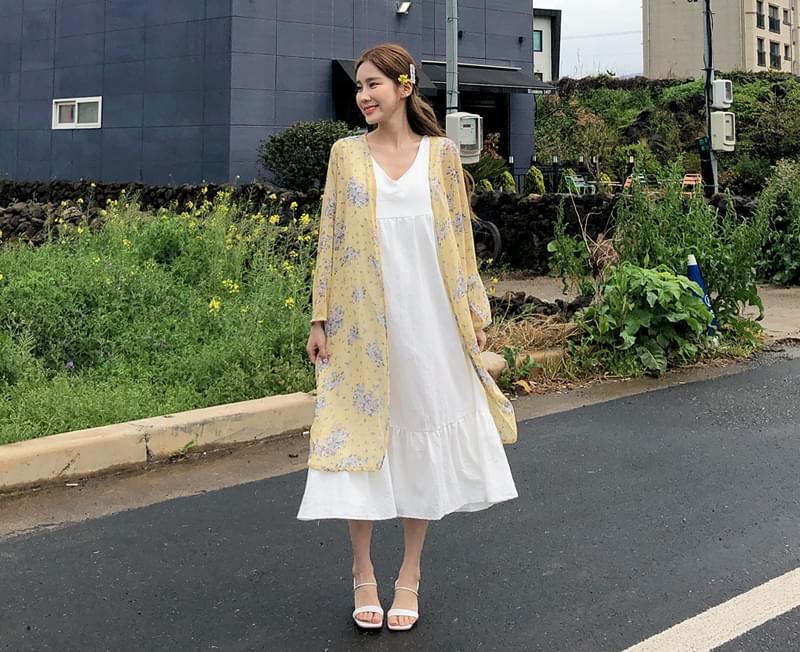 Yellow Blossom Robe