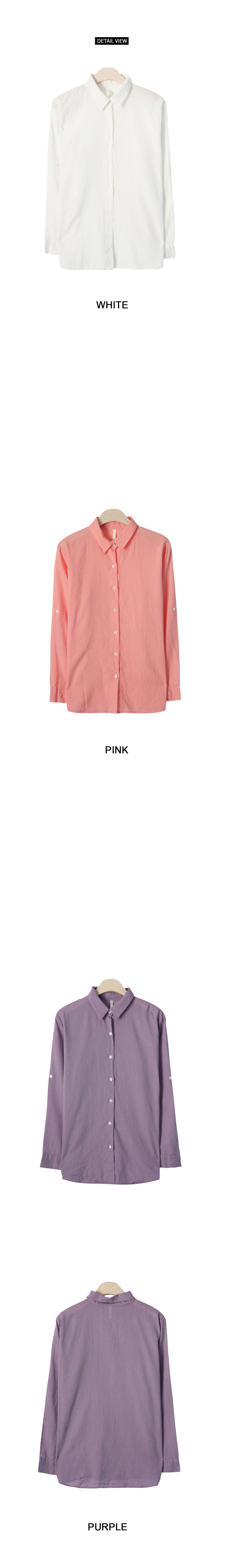 캔디팝 컬러 린넨 셔츠 (nb847)