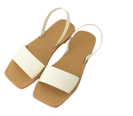 Open-square sandals